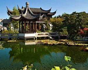 Lansu Classical Chinese Garden - Portland, Oregon
