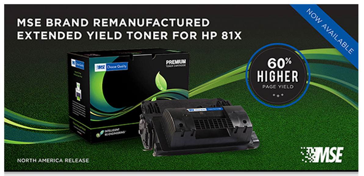 ABS Extended Yield Toner for HP 81X