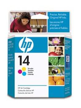 HP 14 TRICOLOR INK CARTRIDGE
