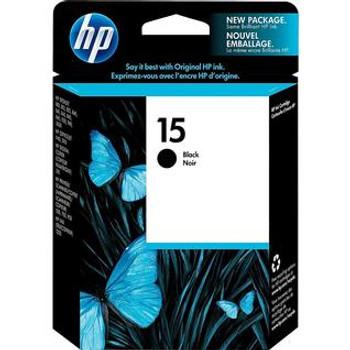 HP 15 Black Original Ink Cartridge (C6615DN) (C6615DC)