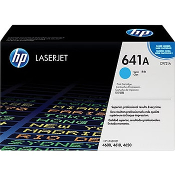 Colour Laserjet 4600/4610/4650 Cyan Toner Cartridge (C9721A)