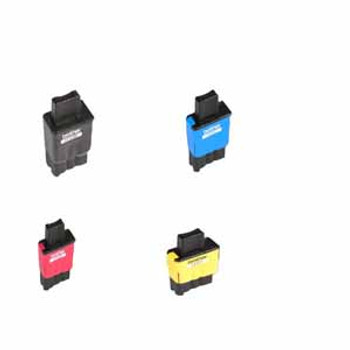 Brother LC-41 Compatible Combo 4 Pack.