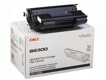 Okidata B6300 High Yield Toner Cartridge