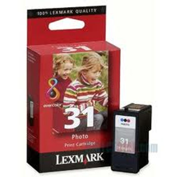 LEXMARK #31 PHOTO COLOUR PRINT CARTRIDGE