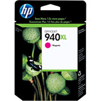 HP 940XL Magenta High Capacity Officejet Inkjet Cartridge