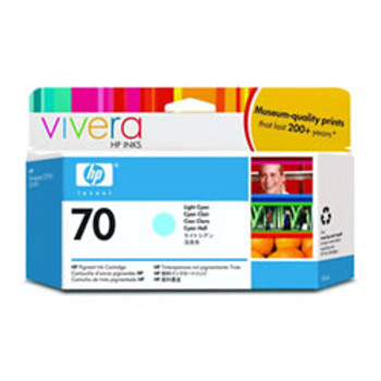 #70 LIGHT CYAN 130 ML INK CARTRIDGE