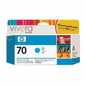 #70 CYAN 130 ML INK CARTRIDGE