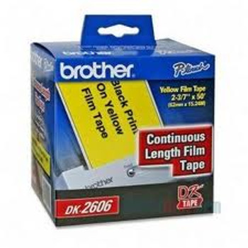 CONT. LENGTH YELLOW FILM TAPE 62mm