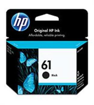 HP #61 BLACK INK CARTRIDGE ( CH561WC )
