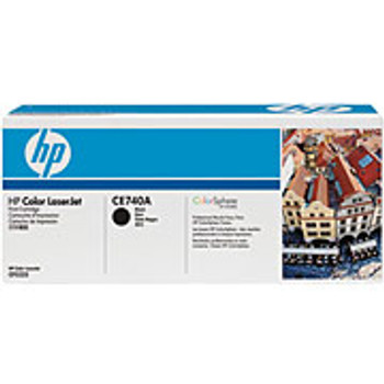 HP CE740A BLACK TONER CARTRIDGE