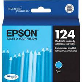 124 CYAN INK LOW-CAP INKJET