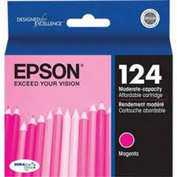 124 MAGENTA INK LOW-CAP INKJET