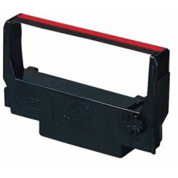 Epson ERC-30,34,38 Black/Red Compatible Ribbon- 12 Ribbons/Case (Rep13017-RB-K)