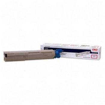 Okidata C3400 High Yield Magenta Compatible Toner
