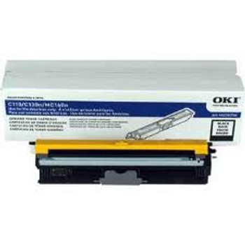 OKIDATA BLACK Compatible TONER CARTRIDGE FOR MC160/C110/C130N