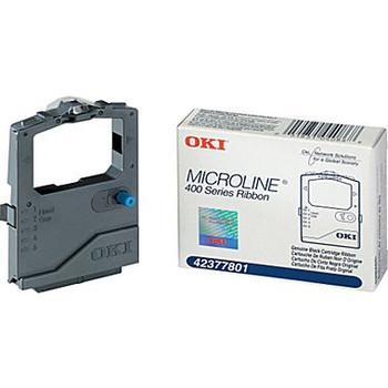 Okidata 42377801 Black Self-Inking Compatible Ribbon 420/421 490/491