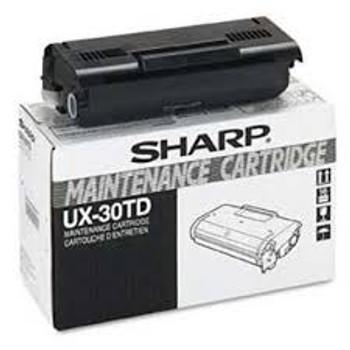 FAX TONER/DEV/IMAGING CTG SHARP UX30TD