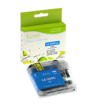 Brother LC205 Cyan Compatible Ink Cartridge, Super High Yield (LC205CS)