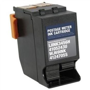 ABS Postage Non-OEM New NeoPost, Hasler IJINK3456H/4105243U/WJ69INK/4124705S Postage Meter Red Ink Cartridge (N IJINK3456H)