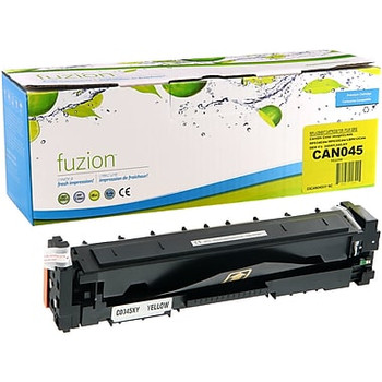 Canon 045H Yellow Compatible Toner Cartridge, High-Yield (1243C001)