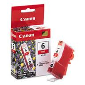 Canon BCI6R Red Compatible Inkjet Cartridge