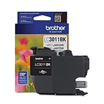 Brother LC3011BKS Black Ink Cartridge (LC3011BKS)
