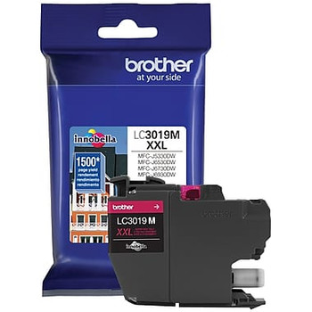 Brother LC3019 Magenta Ink Cartridge, Super High Yield (LC3019MS)