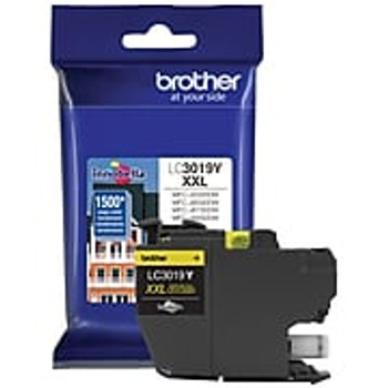 Brother LC3019 Yellow Ink Cartridge, Super High Yield (LC3019YS)