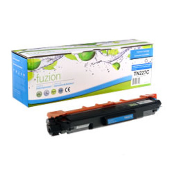 Brother TN-227C Cyan Compatible Toner Cartridge, High Yield (TN-227C) (BTN227C)