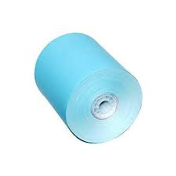 """3 1/8"""" x 200' Grade A BLUE Thermal Paper Rolls 50/Case (Copy of 20320P)"""