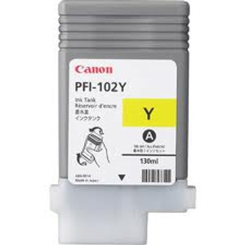 Canon PFI102Y Yellow Pigment Compatible  Ink Tank