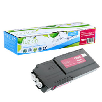 Dell C2660DN Compatible High Capacity Toner - Magenta (D2660M)