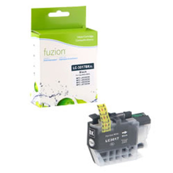 Brother LC3017 Black Compatible Ink Cartridge, High Yield (LC3017BKS)