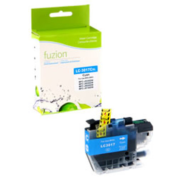 Brother LC3017 Cyan Compatible Ink Cartridge, High Yield (LC3017CS)