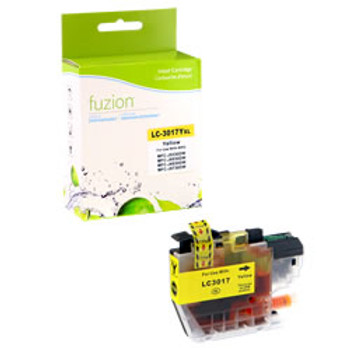 Brother LC3017 Yellow Compatible Ink Cartridge, High Yield (LC3017YS)