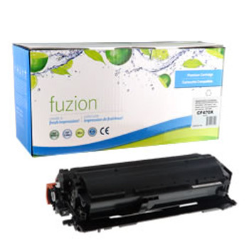 HP 657X (CF470X) Black High Yield Compatible LaserJet Toner Cartridge (HCF470X)