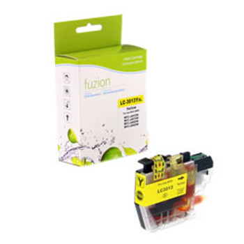 Brother LC3013Y Yellow Compatible Ink Cartridge, High Yield (BLC3013Y)