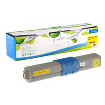 Okidata C332DN, MC363DN Yellow Compatible Toner (O46508701)