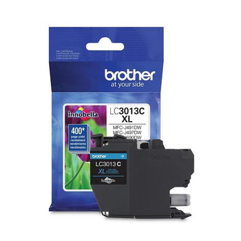 Brother LC3013C Cyan Original Ink Cartridge, High Yield (LC3013C)