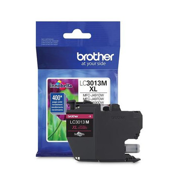 Brother LC3013M Magenta OEM Ink Cartridge, High Yield (LC3013M)