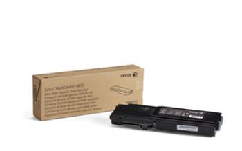 Black High Capacity Toner Cartridge, WorkCentre 6655, 6655i (106R02747)