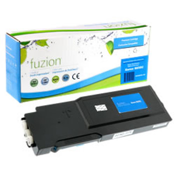 Cyan High Capacity Compatible Toner Cartridge, WorkCentre 6655, 6655i (106R02744)