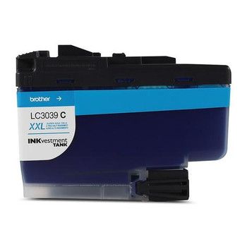 Brother Cyan Inkvestment Ink Cartridge, Ultra High Yield (LC3039CS)