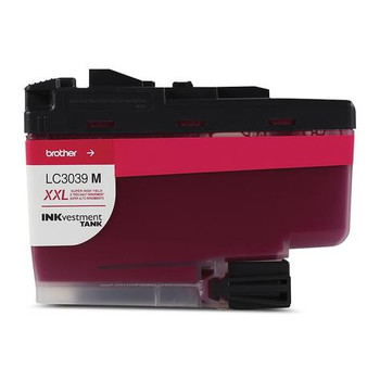 Brother Magenta Inkvestment Ink Cartridge, Ultra High Yield (LC3039MS)