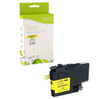 Brother Yellow Inkvestment Compatible Ink Cartridge, Ultra High Yield (LC3039YS)