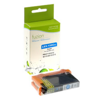 Lexmark #150XL Inkjet - Cyan Compatible (L14N1615)
