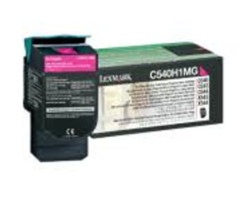 Lexmark C241HM0 Magenta Extra High Capacity Return Program Toner Cartridge (C241HM0)