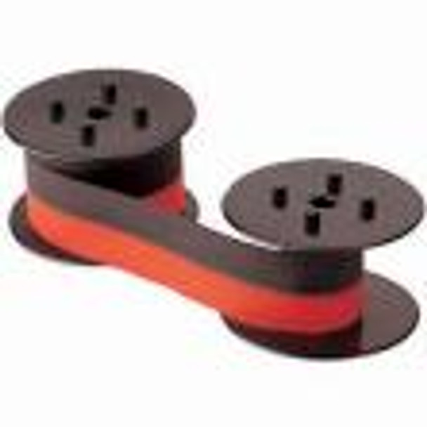 Universal Calculator Spools Black/Red, 12 Spools Per Case