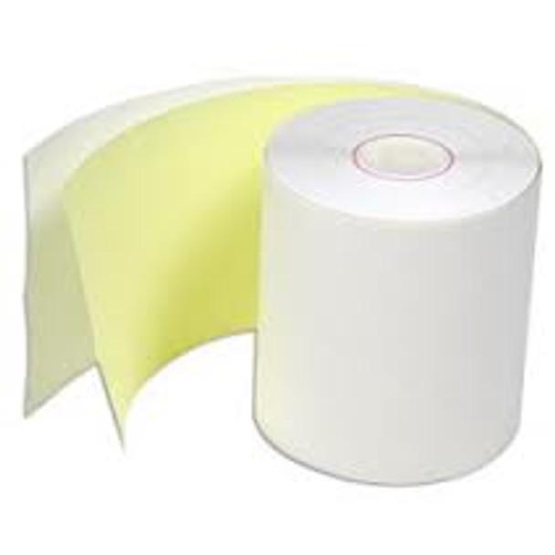 "3"" x 3"" Grade A 2 Ply Paper Rolls. 50/Case"