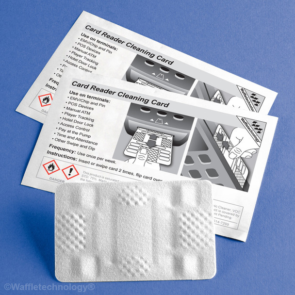 Cleaning Card for all types of pos,Debit,ATM and Interact systems.